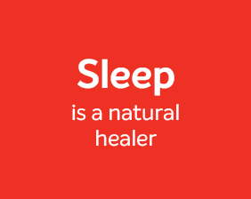 Sleep is a natural healer